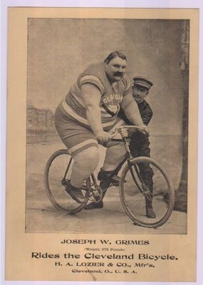 larger guy on bike