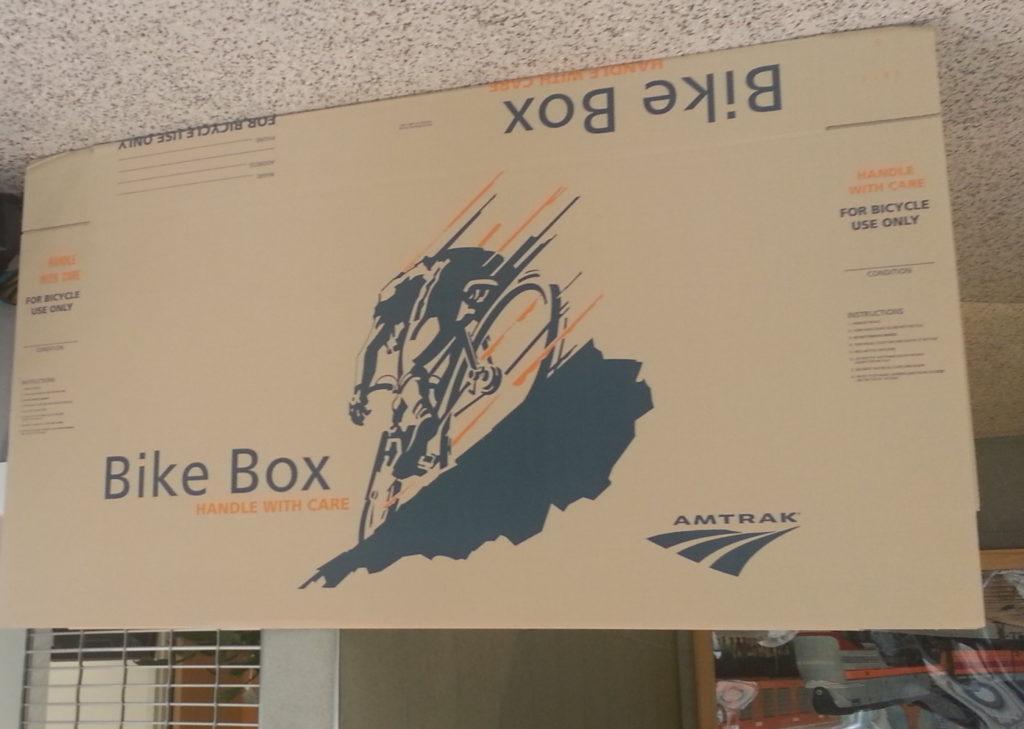 amtrak bike box
