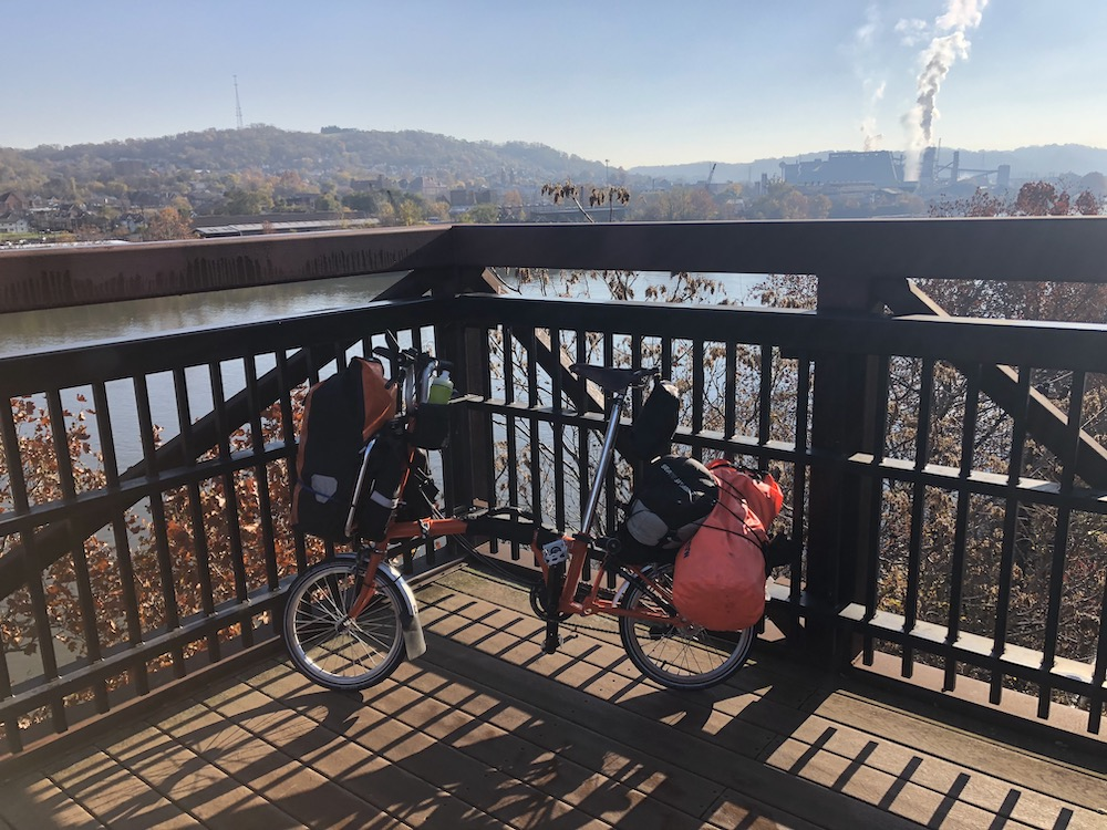 The Pedalshift Project 142: Tour Journals Vol. 12: Great Allegheny Passage by Brompton, Part 1