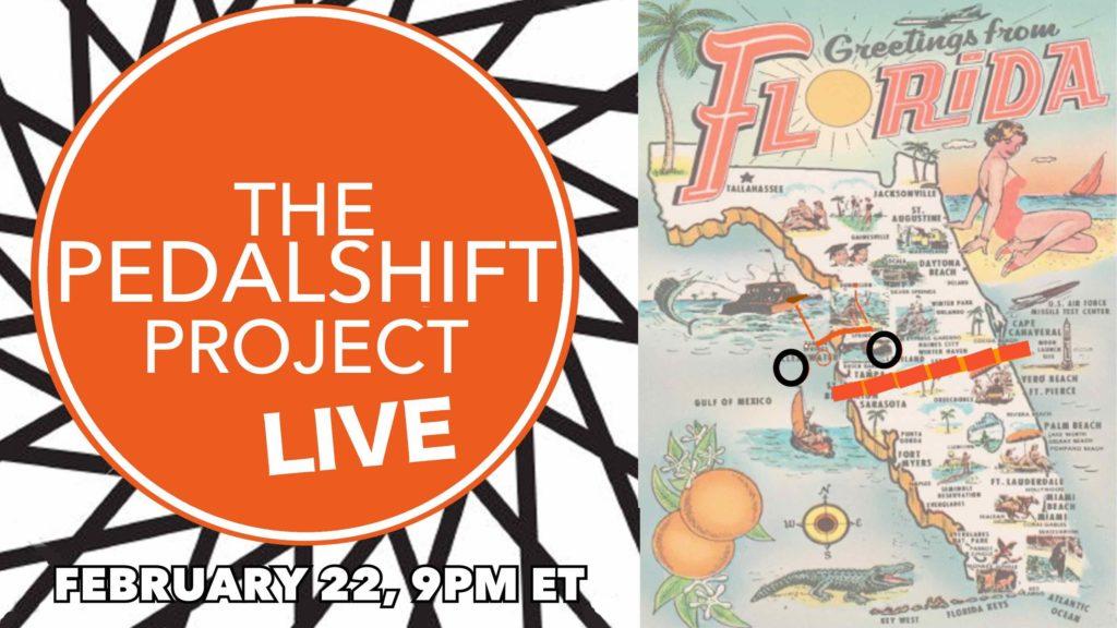 Pedalshift Live Feb 22 9pm ET